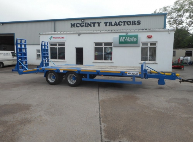 McCauley Twin Axle Low Loader - SOLD